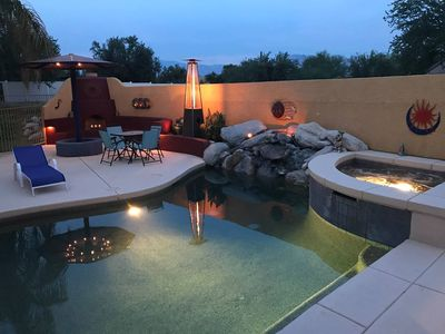 Photo for Sunset Room - Pool and Hot tub - Self Check-in & No Cleaning Fee