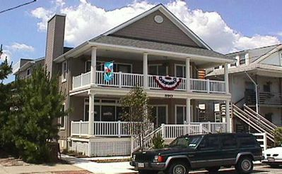 Photo for 52 steps to Beach & Boardwalk... RENTS YEAR ROUND... WEEKS & Weekends from $495