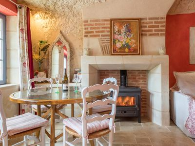 Photo for Troglodyte holiday home in Touraine