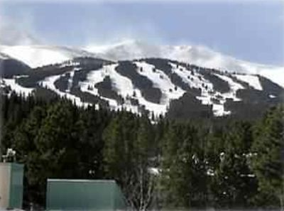 Spectacular panoramic view of ski resort and 10 Mile Range!