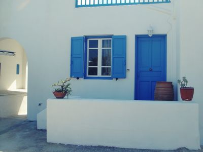 Photo for A Slice of Mykonos Heaven Next To The Beach.
