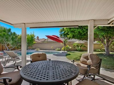 Photo for Quiet, Cozy Couples Getaway! Updated Palm Desert Home with Private Pool & Spa!