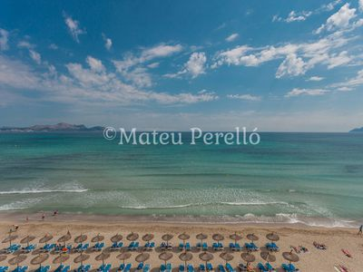 Photo for Farolas 4A: Apartment in front of the beach