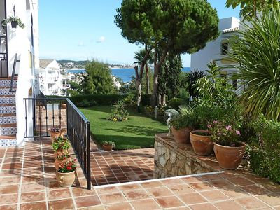 """Photo for Apartment a short walk away (192 m) from the """"Playa El Bombo"""" in Mijas with Lift, Parking, Internet, Washing machine (87031)"""
