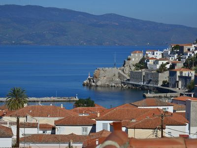 Photo for Hydra town Panoramic sea view