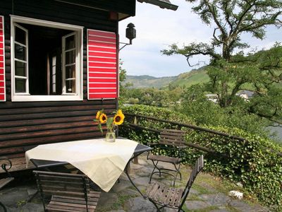 Photo for This cozy holiday house with dreamlike view of the Moselle