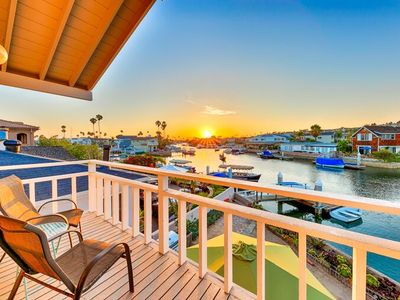 Photo for Waterfront Vacation Home, Private Dock + Walk to Beach