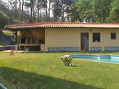 Photo for 4 bedroom Villa, sleeps 8 in Covas with Pool