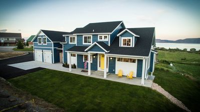 Photo for NEW Big Blue Cottage Family Retreat - Sleeps 40+ in beds