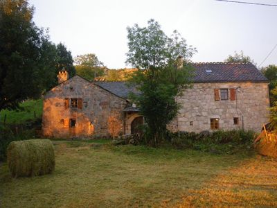Photo for Restored 18th century farm in the heart of the Cevennes National Park