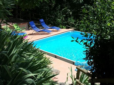 Photo for Beautiful  villa for 9 people with private pool, WIFI, TV, terrace, panoramic view and parking