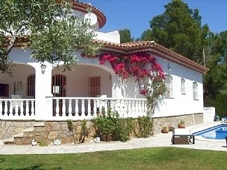 Photo for Private Villa with Pool in Spectacular Gardens with Mountain Views