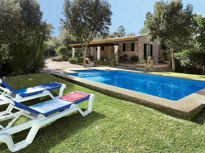 Photo for 2 bedroom countryside villa w/ Roman-style pool, short drive to village