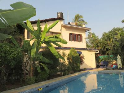 Photo for Apartment 461 m from the center of Saligao with Internet, Pool, Parking, Terrace (646652)
