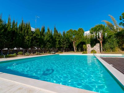 Photo for Santa Luzia Mar - 2 bedroom apartment with pool view