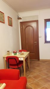 Photo for Delightful small apartment in a villa surrounded by the greenery of a large garden.