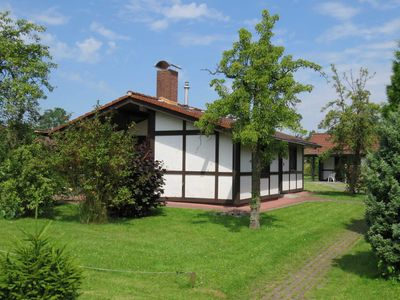 Photo for Robinson house rental - Robinson cottage in the holiday village Altes Land