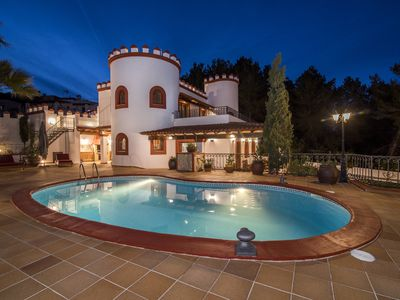 Photo for VILLA CAN CASTELL a beautifull house mediterranean style for 9/10 people