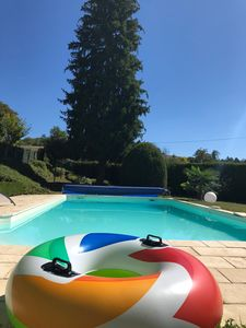 Photo for Nice cottage with swiming pool in a typical Dordogne hamlet