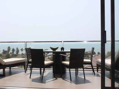 Photo for Luxury apartment with beautiful sea view and large terrace
