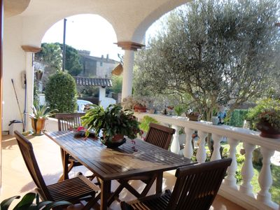 Photo for VILLA PI, WITH SHARED POOL, PRIVATE GARDEN, WIFI