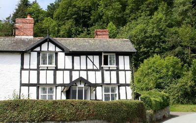 Photo for 250 year old cottage with Oak Floors/Staircase in Montgomery, Wales. Sleeps 5