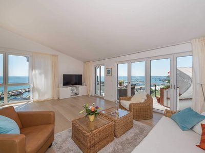Photo for Luxury Penthouse Bel Etage with stunning sea views - Bel Etage in the Villa Amelie by the sea