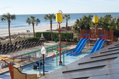 View from balcony of kids splash zone (looking right)
