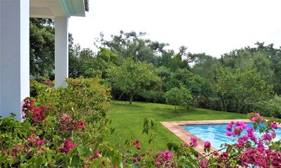 Photo for Villa with lovely garden and large swimming pool at only 1 km. from beach