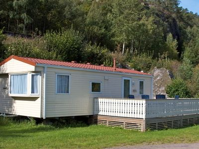Photo for Small holiday home for up to 4 people on the Trysfjord south of Kristiansand
