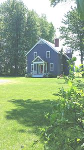 Lovely, private 2 bdrm-2bath on 10 acres with lake view