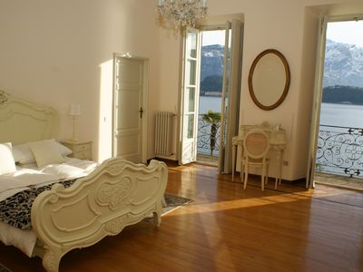 Photo for Villa Lucia - Private lakeside villa with breathtaking views of Lake Como