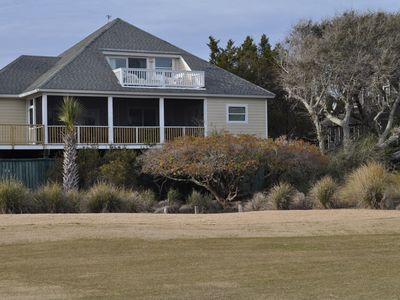 Photo for New to VRBO - Spacious 3 bedroom, 3 full bath home on the 8th Green! Sleeps 8-10