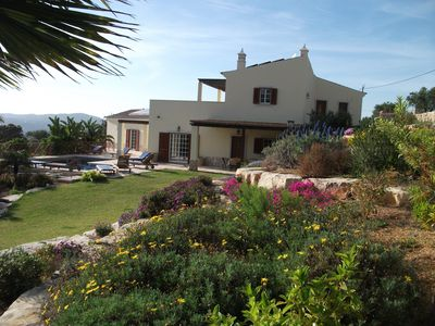 Photo for wonderful villa with beautiful view of the mountains special November , December