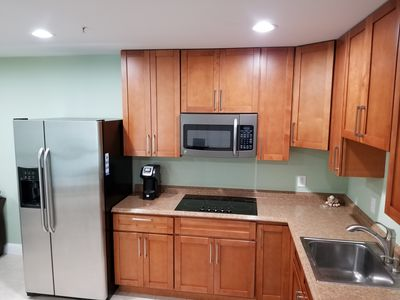 Full Nice functional Kitchen Open on Dinning / Living Rooms