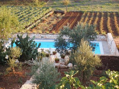 Photo for TRULLO BIANCO with private pool, between Ostuni and Cisternino