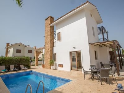 Photo for Villa Iona, Luxury 4BDR Ayia Thekla Villa with Private Pool, Close to Amenities