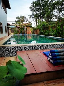 Photo for ANGKOR DINO B&B, PRIVATE 8 BEDROOM POOL VILLA + BF+PICK UP+ 6 MN FROM PUB STREET