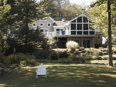 Photo for WATERFRONT! Beautiful Lake House with all the amenities