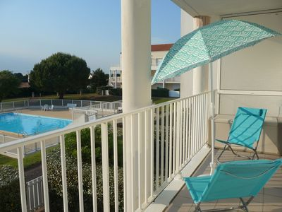 Photo for T2 / 2 ** in residence with pool near Les Sables d'Olonne