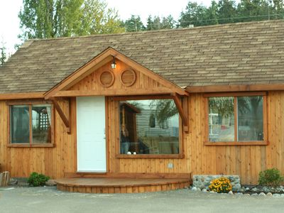 Photo for Beach Front  Cabin In Qualicum Beach