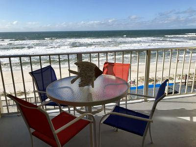 Photo for BEACHFRONT PARADISE! SPECTACULAR VIEW FROM YOU BALCONY!  Newly Remodeled Condo!