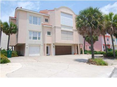 Photo for Close to Beach and Jetty with Gulf & Harbor Views from Balcony