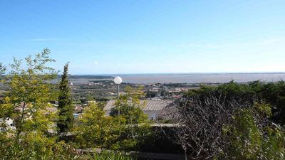 Photo for Independent apartment in villa with garden and Fitou sea view