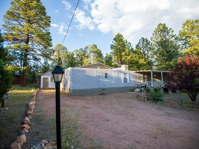 Photo for Cabin Style Home Among Ponderosa Pines