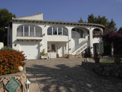 Photo for Dream villa on Mount Pego with panoramic view and 50m² clothing optional pool
