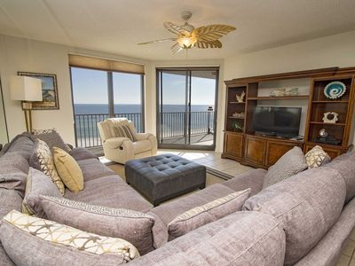 Photo for Rates Dropped ~ Gulf Front 3 BR ~Close to FloraBama ~ All Tile 3/2 ~ Phoenix X 709 ~ Great Amenities