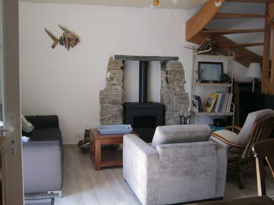 Photo for 2BR Cottage Vacation Rental in Sauzon, Bretagne