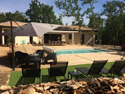 Photo for New villa 8 to 10 people, heated private pool