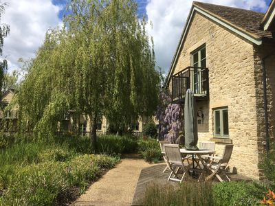 Photo for Refurbished Oakleigh Cottage on nature reserve with pool and lakes